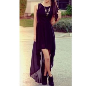 H&M High Low Dress